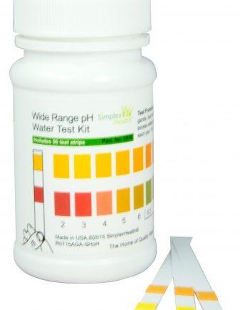 Wassertest pH-Wert