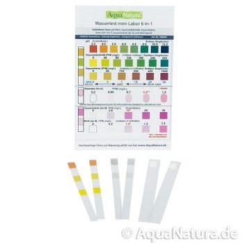 Wassertest mini-Labor 6-in-Einem
