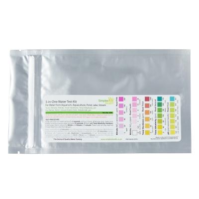 Wassertest 5-in-Einem (5 Teststreifen)