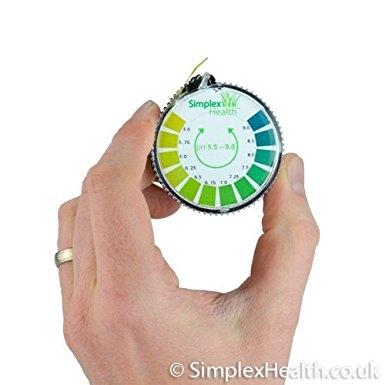 Lackmustest Papier Rolle für Wasser, Urin und Speichel, pH 5,5-9 (5 Meter)