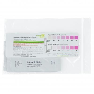 Wassertest für Nitrate & Nitrite (1017) Wasserteststreifen (5 Stück)