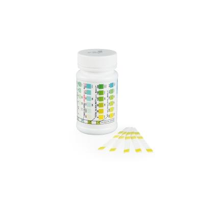 Pooltester 5-in-Einem Chlor pH Härte Alkalinität (50 Stück)
