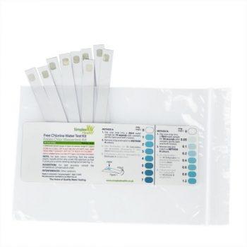 Water Free Chlorine Precise Range 0-7ppm 480002 (50 strips)