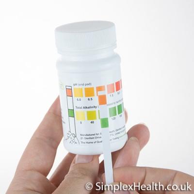 SimplexHealth Wassertest für pH & Alkalinität (TA) (50 Stück)