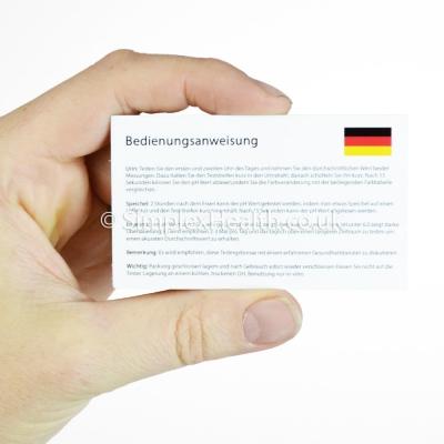 AquaNatura pH Teststreifen für Urin & Speichel (100 Stück)
