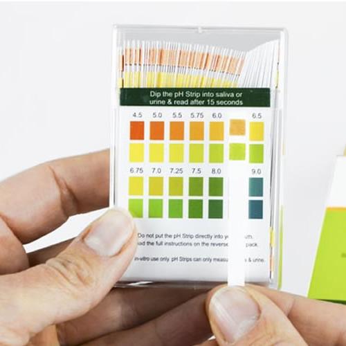 Simplexhealth pH Teststriefen